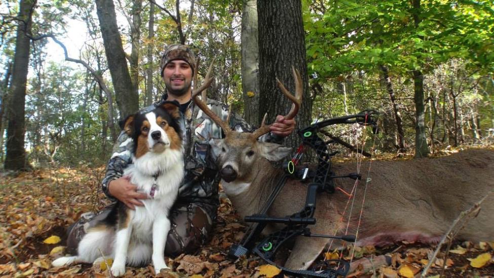 2013 Pennsylvania 8pt Archery Buck